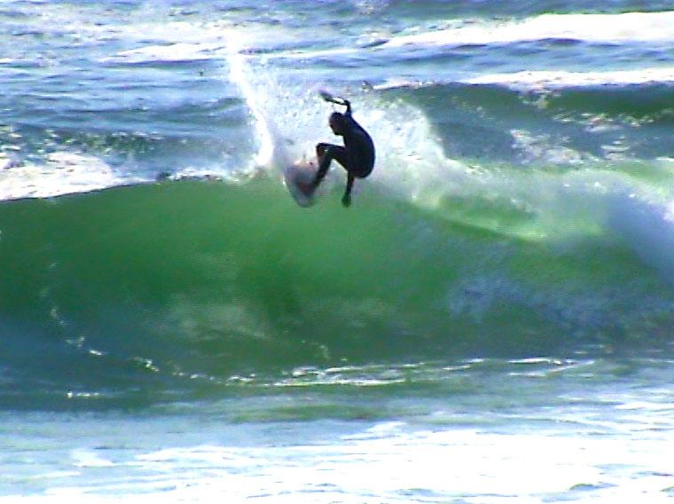 Stuart Barnes Surfing Somewhere